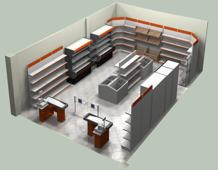 Ремонт и отделка магазинов и торговых помещений