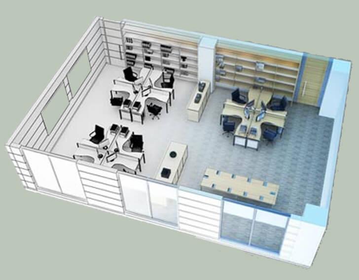 Ремонт и отделка офисных и промышленных помещений