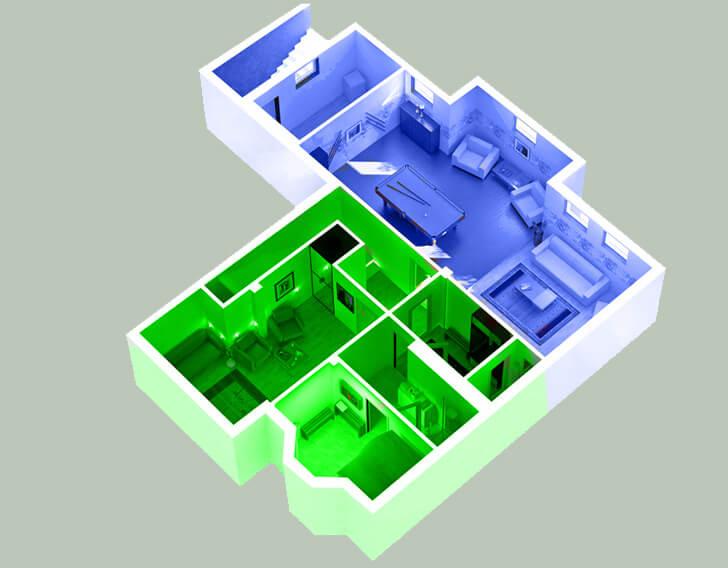 Проект объединения квартир