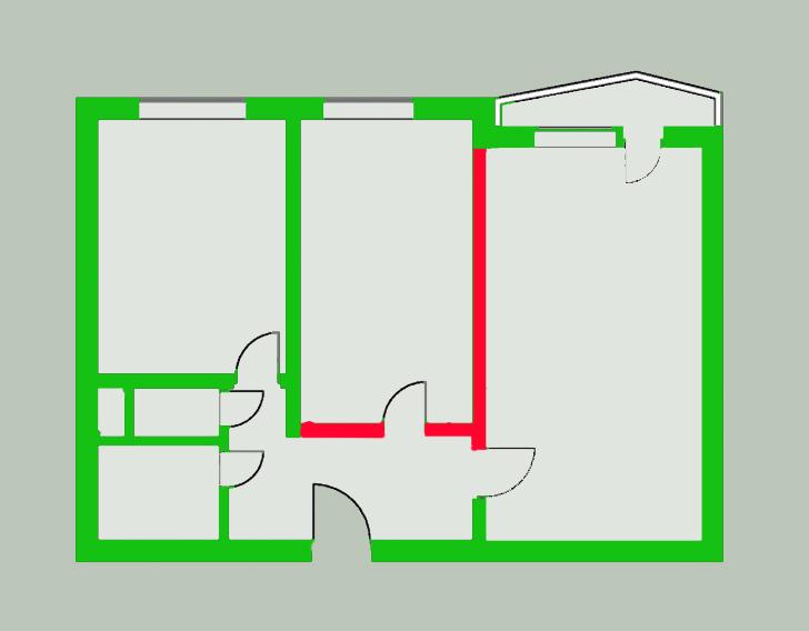Согласование перепланировки с затрагиванием несущих стен